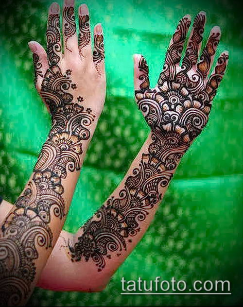 фото тату арабское мехенди (Arabic mehen) (значение) - пример рисунка - 006 tatufoto.com