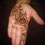 фото тату арабское мехенди (Arabic mehen) (значение) - пример рисунка - 012 tatufoto.com