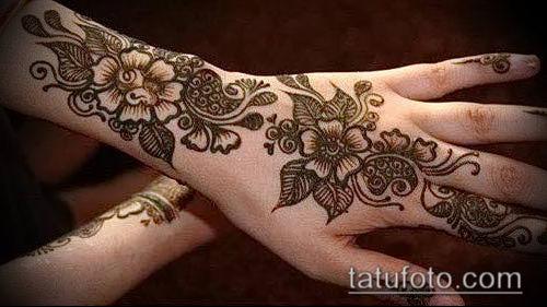 фото тату арабское мехенди (Arabic mehen) (значение) - пример рисунка - 013 tatufoto.com