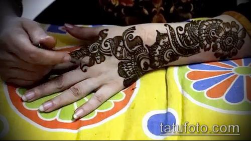 фото тату арабское мехенди (Arabic mehen) (значение) - пример рисунка - 018 tatufoto.com