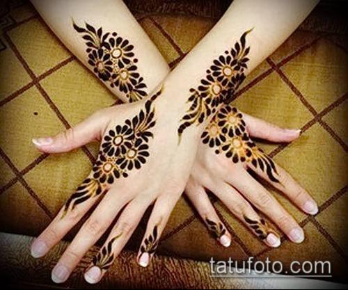 фото тату арабское мехенди (Arabic mehen) (значение) - пример рисунка - 019 tatufoto.com