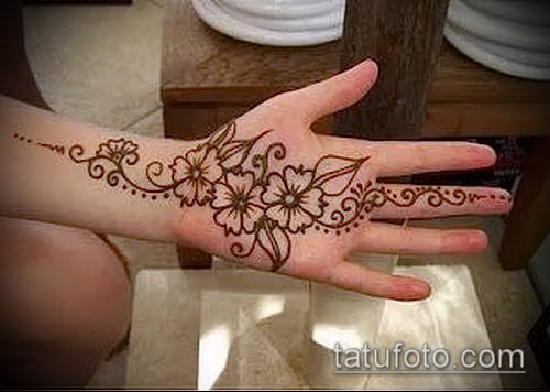 фото тату арабское мехенди (Arabic mehen) (значение) - пример рисунка - 021 tatufoto.com