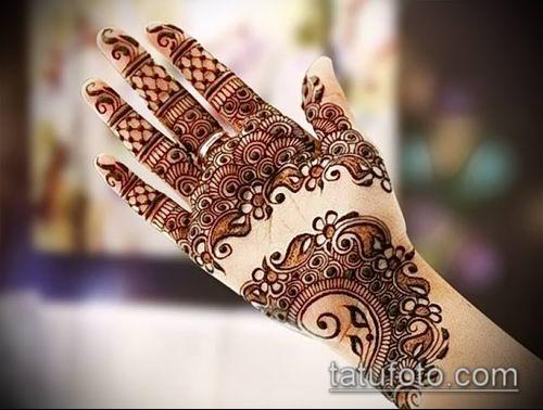 фото тату арабское мехенди (Arabic mehen) (значение) - пример рисунка - 024 tatufoto.com