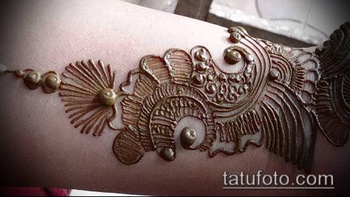фото тату арабское мехенди (Arabic mehen) (значение) - пример рисунка - 033 tatufoto.com