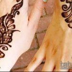 фото тату арабское мехенди (Arabic mehen) (значение) - пример рисунка - 034 tatufoto.com