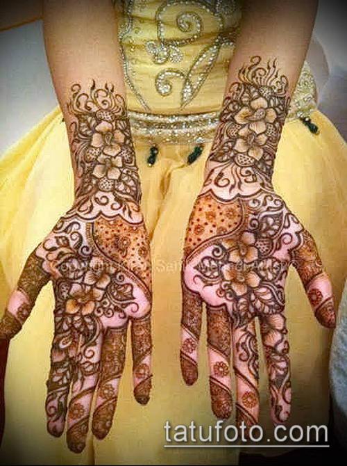 фото тату арабское мехенди (Arabic mehen) (значение) - пример рисунка - 035 tatufoto.com