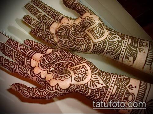 фото тату арабское мехенди (Arabic mehen) (значение) - пример рисунка - 043 tatufoto.com