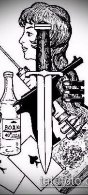 фото тату бардак (значение) – пример интересного рисунка тату – 013 tatufoto.com