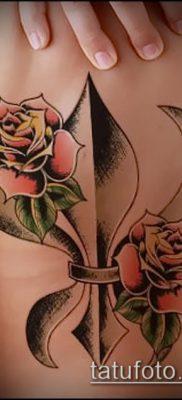 фото тату гера-лилия (значение) – пример интересного рисунка тату – 010 tatufoto.com