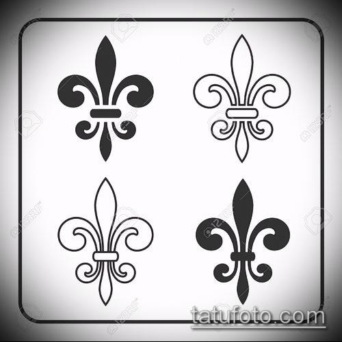Геральдическая лилия значение тату