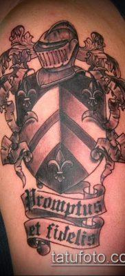 фото тату герб (значение) – пример интересного рисунка тату – 039 tatufoto.com
