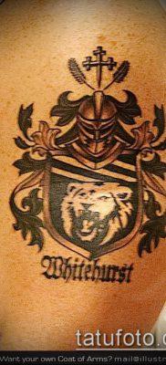 фото тату герб (значение) – пример интересного рисунка тату – 040 tatufoto.com