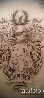 фото тату герб (значение) – пример интересного рисунка тату – 041 tatufoto.com