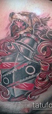 фото тату герб (значение) – пример интересного рисунка тату – 043 tatufoto.com