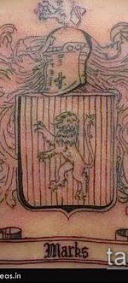 фото тату герб (значение) – пример интересного рисунка тату – 046 tatufoto.com