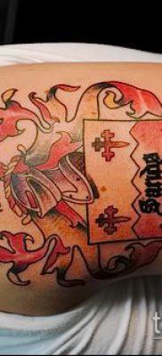 фото тату герб (значение) – пример интересного рисунка тату – 048 tatufoto.com