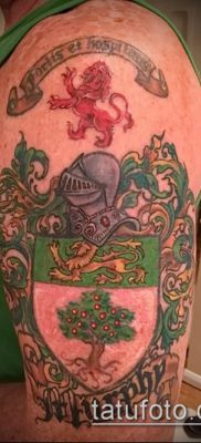 фото тату герб (значение) – пример интересного рисунка тату – 054 tatufoto.com