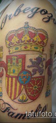 фото тату герб (значение) – пример интересного рисунка тату – 058 tatufoto.com
