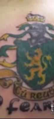 фото тату герб (значение) – пример интересного рисунка тату – 063 tatufoto.com