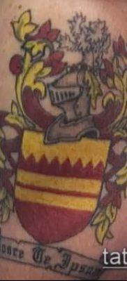 фото тату герб (значение) – пример интересного рисунка тату – 064 tatufoto.com