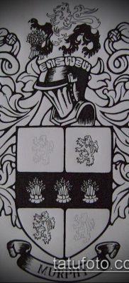 фото тату герб (значение) – пример интересного рисунка тату – 067 tatufoto.com