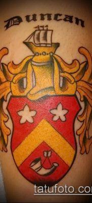фото тату герб (значение) – пример интересного рисунка тату – 071 tatufoto.com
