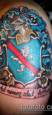 фото тату герб (значение) – пример интересного рисунка тату – 072 tatufoto.com