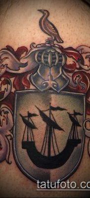 фото тату герб (значение) – пример интересного рисунка тату – 074 tatufoto.com