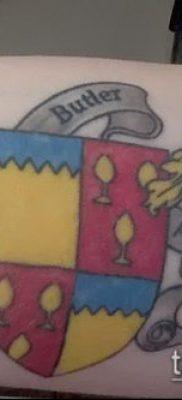 фото тату герб (значение) – пример интересного рисунка тату – 075 tatufoto.com