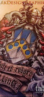 фото тату герб (значение) – пример интересного рисунка тату – 076 tatufoto.com