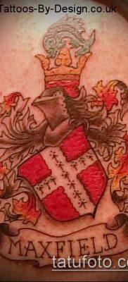 фото тату герб (значение) – пример интересного рисунка тату – 081 tatufoto.com
