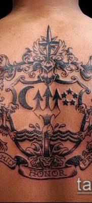 фото тату герб (значение) – пример интересного рисунка тату – 087 tatufoto.com
