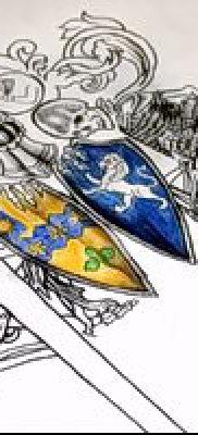 фото тату герб (значение) – пример интересного рисунка тату – 088 tatufoto.com
