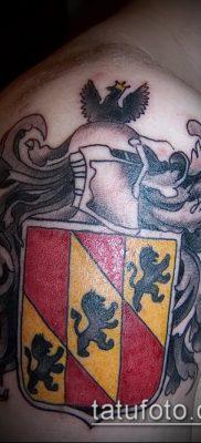 фото тату герб (значение) – пример интересного рисунка тату – 093 tatufoto.com