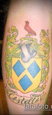 фото тату герб (значение) – пример интересного рисунка тату – 094 tatufoto.com