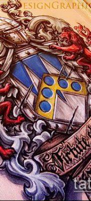 фото тату герб (значение) – пример интересного рисунка тату – 095 tatufoto.com