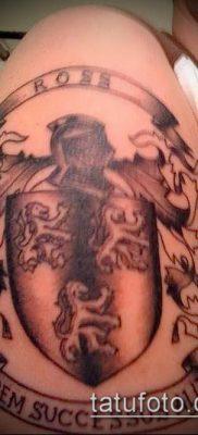 фото тату герб (значение) – пример интересного рисунка тату – 098 tatufoto.com