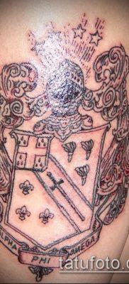 фото тату герб (значение) – пример интересного рисунка тату – 100 tatufoto.com