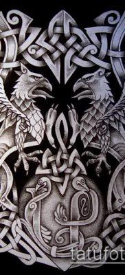 фото тату герб (значение) – пример интересного рисунка тату – 101 tatufoto.com