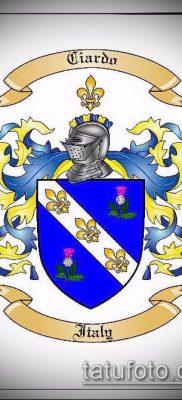 фото тату герб (значение) – пример интересного рисунка тату – 107 tatufoto.com