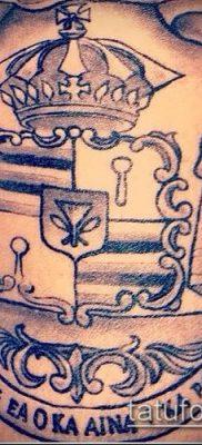 фото тату герб (значение) – пример интересного рисунка тату – 109 tatufoto.com