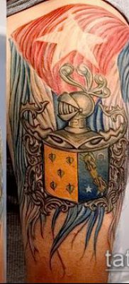 фото тату герб (значение) – пример интересного рисунка тату – 115 tatufoto.com