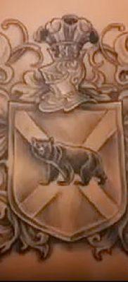 фото тату герб (значение) – пример интересного рисунка тату – 118 tatufoto.com