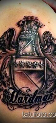 фото тату герб (значение) – пример интересного рисунка тату – 123 tatufoto.com