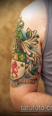 фото тату герб (значение) – пример интересного рисунка тату – 127 tatufoto.com