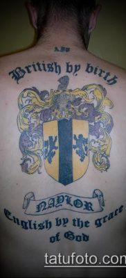 фото тату герб (значение) – пример интересного рисунка тату – 132 tatufoto.com