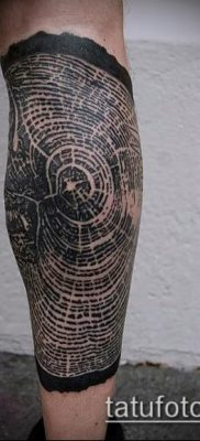 фото тату дуб (tattoo oak) (значение) – пример рисунка – 026 tatufoto.com