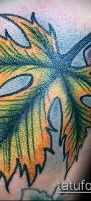 фото тату дуб (tattoo oak) (значение) – пример рисунка – 035 tatufoto.com