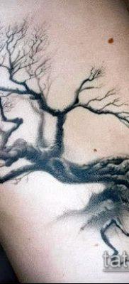 фото тату дуб (tattoo oak) (значение) – пример рисунка – 039 tatufoto.com