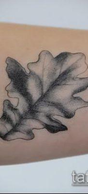 фото тату дуб (tattoo oak) (значение) – пример рисунка – 048 tatufoto.com